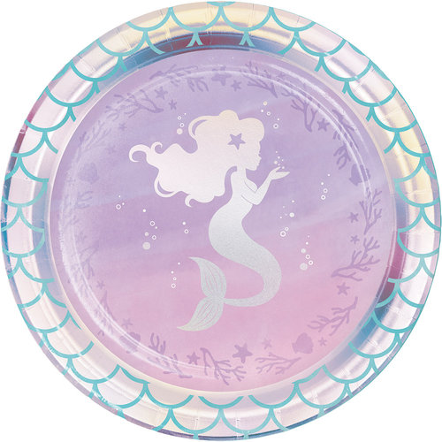 Mermaid Shine pienet lautaset