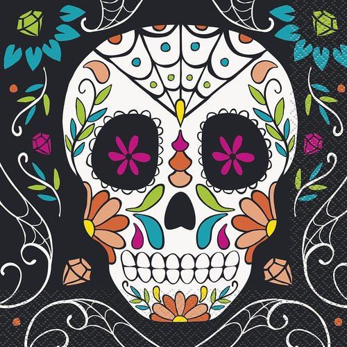 Isot lautasliinat, Skull Day of the Dead